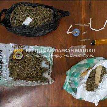 Polres Tanimbar Ringkus Empat Pelaku Penyalahgunaan Narkotika