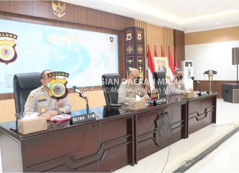 Tim Kalemdiklat Polri Sambangi Polda Maluku, Ini Harapan Kapolda