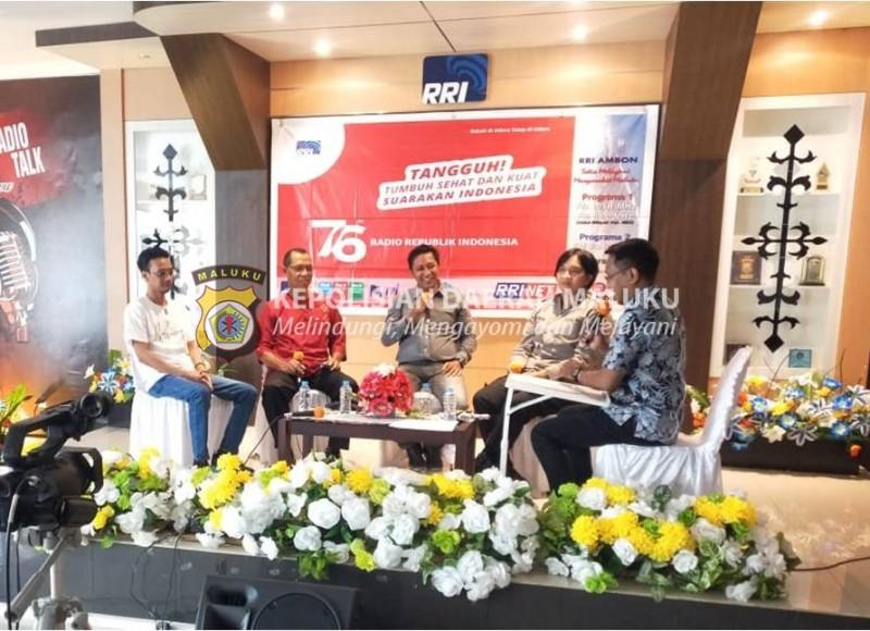 Ajak Seniman Maluku Tuangkan Ekspresi Melalui Festival Mural Bhayangkara 2021